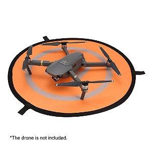 Heliponto Luminous 75cm para Drone - Pista de Pouso (brilha no escuro)