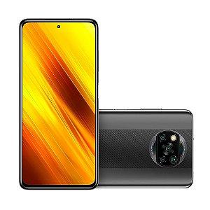 Smartphone Xiaomi Poco X3 NFC 128Gb 6Gb RAM Global Cinza