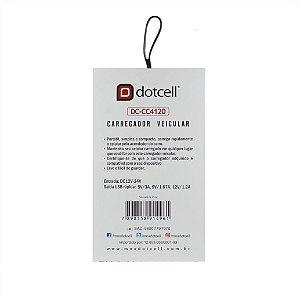 Carregador Veicular DC-CC4120 - Vermelho