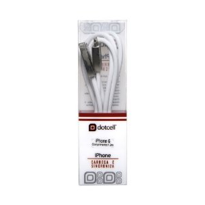Cabo USB DC-CD3001 IPH6 (Branco) (1m)