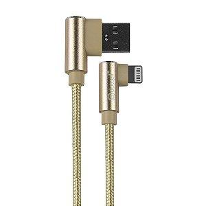 CABO USB IPHONE DOTCELL DC-1108 DOURADO