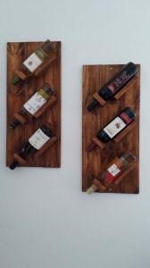 Porta Vinhos de Parede