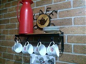 Suporte para Café e Xícaras