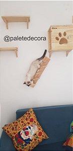 Playground para Gatos - Gatil -  Kit Diversão (4 peças)