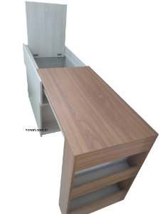 Baú multiuso (cabeceira, baú e mesa)