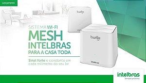 Roteador Wifi Mesh Intelbras Twibi fast KIT