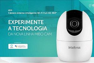 Câmera Wi-Fi Full HD Intelbras Mibo iM4 360