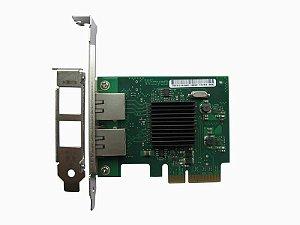 Placa de Rede PCI Express X4 Dual Giga Winyao WY575T