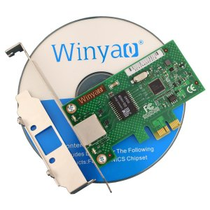 Placa de Rede PCI Express X1 Gigabit Winyao WYI210T1