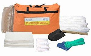 Kit Proteção Ambiental 30 litros - Linha Branca – Bolsa Laranja