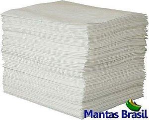 Manta Absorvente de Óleo 40x50x0,4cm Caixa com 100 und.