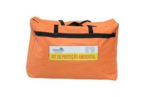 Bolsa Laranja para Montar Kit de Proteção Ambiental com visor 60x40x20CM