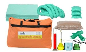 kit Mitigação Bolsa 20 litros para Laboratórios e produtos Químicos