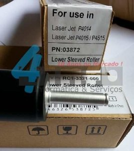 Rolo Pressor OEM Fusor Hp Lj P4014 P4015 P4515 RM1-4554