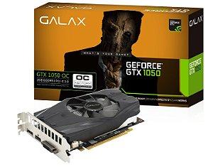 Placa de Video Galax Geforce GTX 1050 OC 128bit 2GB DDR5 HDMI Dual DVI-D
