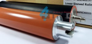 Rolo Fusor + Rolo Pressor OEM Samsung SCX-6545 SCX-6555 Xerox WC-4250 WC-4260 JC96-04991A JC91-00973A