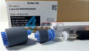 Kit Roletes e Rolo Transferência HP LJ 9000n 9040 9050dn RF5-3338 RF5-3319 RF5-3340