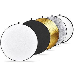 Rebatedor Circular Fotografico 5x1 de 1,10m