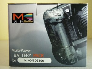 Grip de Baterias Meike para Nikon D5100