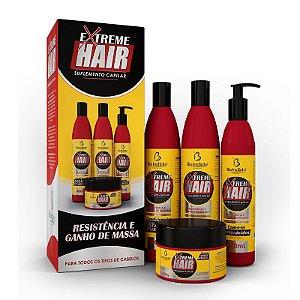 Kit Extreme Hair Bio Instinto 4 Produtos Completo
