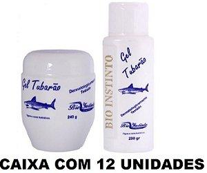 GEL TUBARÃO ATACADO REVENDA 12 UNIDADES