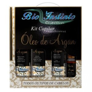 Kit Óleo De Argan Profissional Bio Instinto PROMOÇÃO