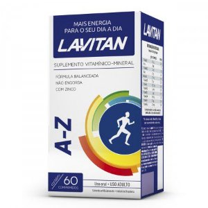 Lavitan Polivitamínico AZ 60 Caps A Vitamina do Rodrigo Faro