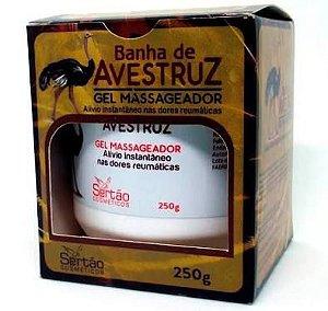 Gel Massageador Banha de Avestruz 250g