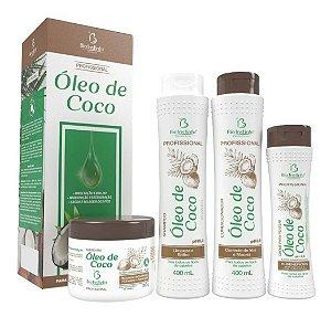 Kit Profissional Óleo de Côco Bio Instinto 04 PRODUTOS