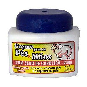 Creme Sebo de Carneiro San Jully 240g