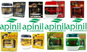 Gel Massageador Apinil 240g Atacado 04 Potes