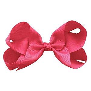 "Laço tipo borboleta ""Super Grande"" - cód. 17.198 - Pink"