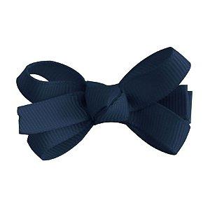 Laço tipo borboleta mini - cód 14.169 - Azul marinho