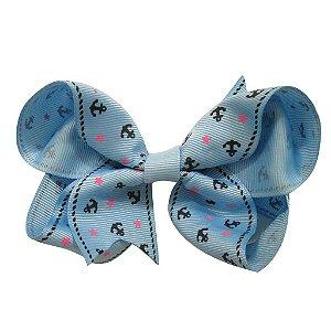 Laço tipo borboleta Grande - Cód. 17.174 - Azul claro navy