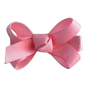 Laço tipo borboleta mini - Cod 14.169 - Rosa