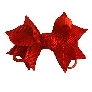 Laço tipo borboleta com base de fita - Cod 14.162 - Vermelho