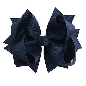 Laço tipo borboleta GG - cód. 17.183 - Azul Marinho