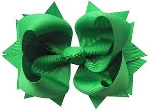Laço tipo borboleta GG - cód. 17.183 - Verde Folha