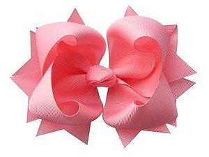 Laço tipo borboleta GG - cód. 17.183 - Rosa claro