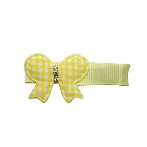 Clip com aplique - Cod 14.053 - Borboleta amarela