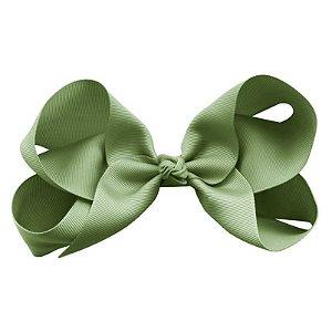 """Laço tipo borboleta """"Super Grande"""" - cód. 17.198 - Verde Pistache"""