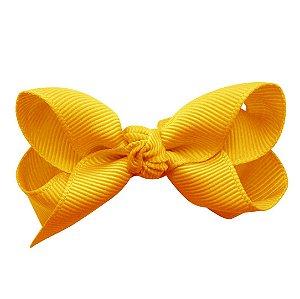 Laço em x modelo borboleta pequeno - cód. 13.197 - Amarelo