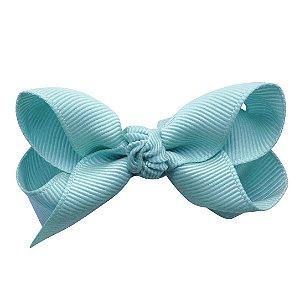 Laço em x modelo borboleta pequeno - cód. 13.197 - Azul claro