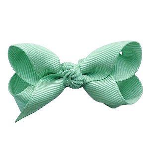Laço em x modelo borboleta pequeno - cód. 13.197 - Verde água
