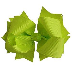 Laço tipo borboleta GG - cód. 17.183 - Verde Fluor / Neon