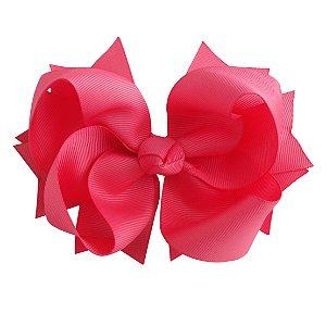 Laço tipo borboleta GG - cód. 17.183 - Rosa chiclete