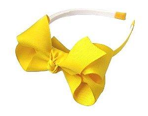 Tiara laços grandes - cód. 22.093 - Amarelo