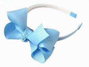 Tiara laços grandes - cód. 22.093 - Azul Claro