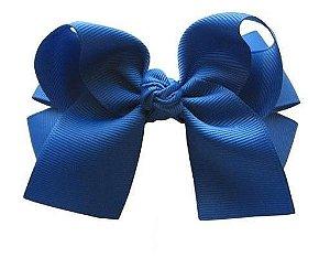 Laço duplo com pontas - cód. 17.173 - Azul Royal