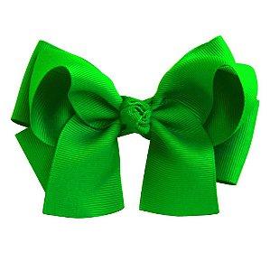 Laço duplo com pontas - cód. 17.173 - Verde Bandeira